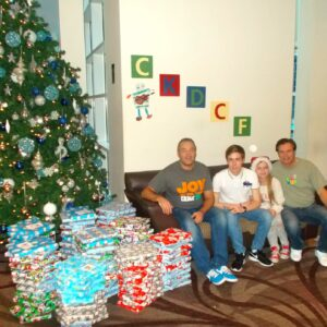 CKDCF Brings Christmas Cheer to the RVI Once Again