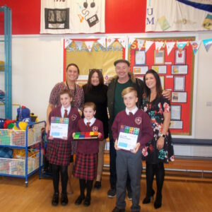 CKDCF donation adds up for primary school pupils